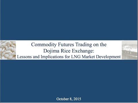 Commodity Futures Trading: Dojima Rice Exchange