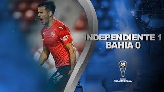 Independiente vs. Bahia [1-0]   RESUMEN   Fecha 5   CONMEBOL Sudamericana 2021