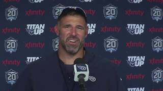 Live // #Titans Post-Practice Press Conference: Mike Vrabel