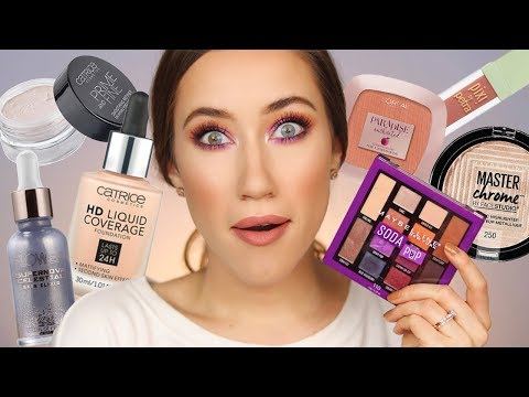 NEW Drugstore Makeup 😱 YOU GUYS...