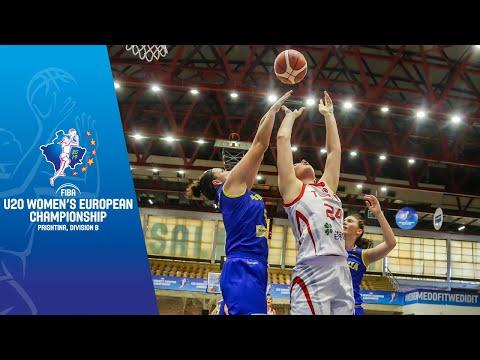 Turkey V Romania - Full Game - FIBA U20 Women's European Championship Division B 2019