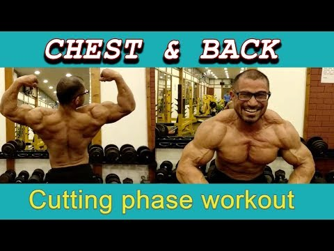 Chest and back cutting phase workout youtube chest and back cutting phase workout malvernweather Gallery