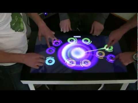 Demo of Mindstorm's interactive DJ app - Michael Jackson, Beat it