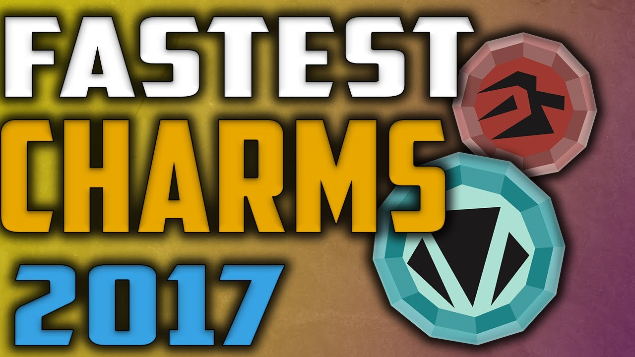 Top 5 monsters for charms Runescape 2017