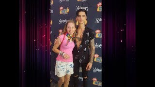 I GOT TO MEET ANDY BIERSACK !!!  - Warped Tour Vlog 2017