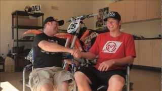MXTV - A chat with GNCC Dirt Bike Champ Josh Strang