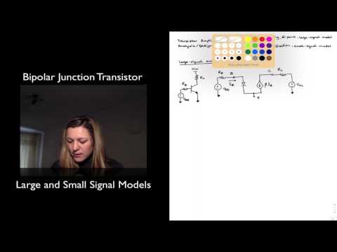 BJT Large and Small Signal Models
