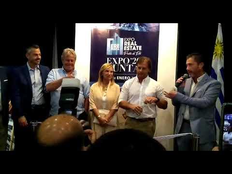 Lacalle Pou quiere que gente de todo el mundo vaya a vivir a Uruguay