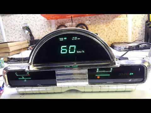 Газ 21 электронная приборная панель . Ч2: Back To The Future