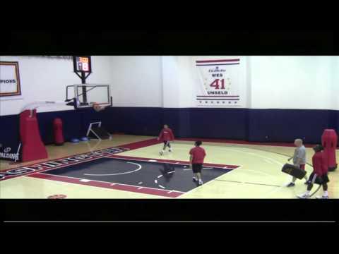 Brad Beal & Shelvin Mack Workout Video Washington Wizards.