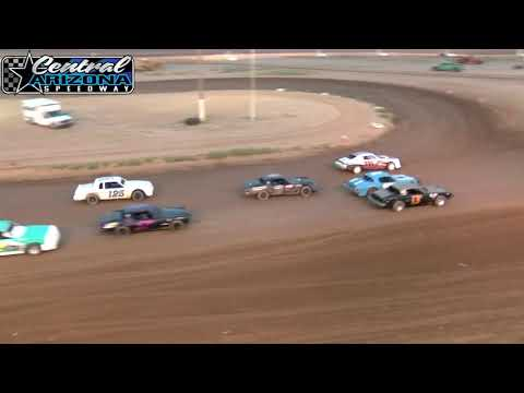 Central Az Speedway Pure Stock Heats May 18 2019