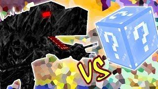 MOBZILLA VS. LUCKY BLOCK FROZEN (MINECRAFT LUCKY BLOCK CHALLENGE)