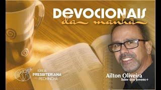 A ÁRVORE CORTADA BROTARÁ AO CHEIRO DAS ÁGUAS - Ailton Oliveira - Igreja Presbiteriana do Pechincha