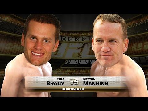 Brady V Manning - EA Sports UFC