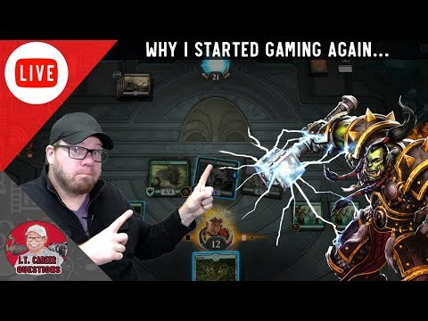 FFAF - Why I Started to Play Games Again - Magic Arena & WoW