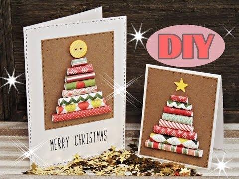 weihnachtskarten selber basteln 3 weihnachtsbaum. Black Bedroom Furniture Sets. Home Design Ideas