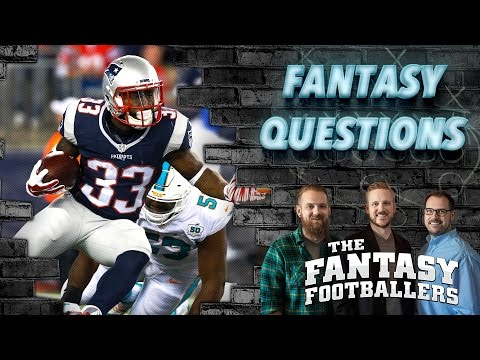 Fantasy Football 2016 - Draft Questions & Fantasy News - Ep. #225