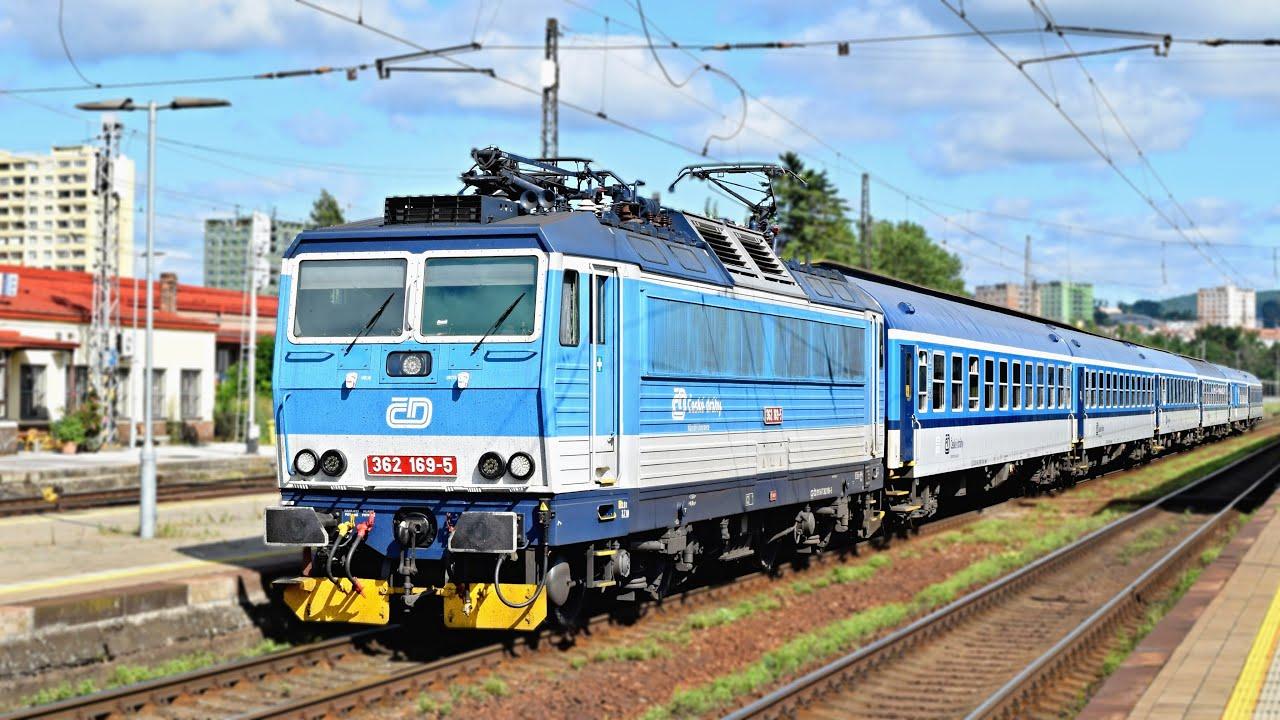 Vlaky Brno-Královo Pole ● 10.07.2021