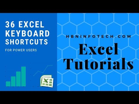 36 Advanced Excel Keyboard Shortcuts and Techniques for Power Users