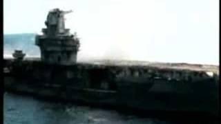 USS Oriskany Aircraft Carrier Sinking