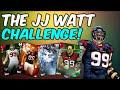 THE JJ WATT CHALLENGE! 4 CARDS ON THE LINE! Madden 16 Ultimate Team