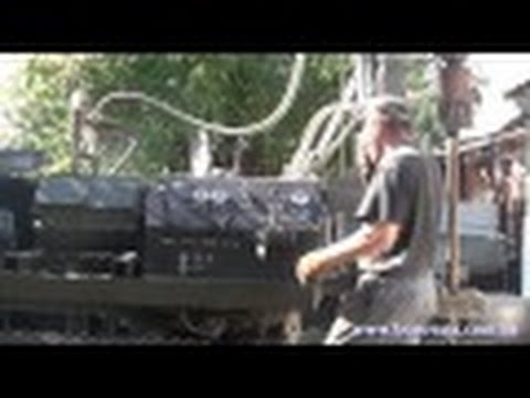 буровая установка на гусеничном ходу (дизельная)