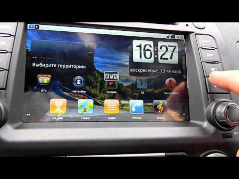 Ca-Fi. Штатная автомагнитола на Android для Honda Civic