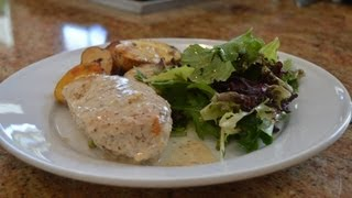Cooking With Marc: Chicken Breast With Dijon Cream Sauce And Roasted Rainbow Potatoes