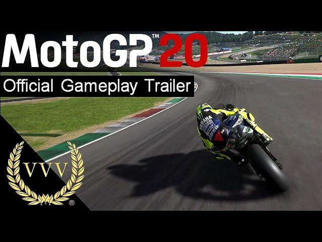 MotoGP '20 First Gameplay Trailer