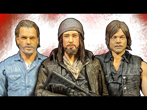 The Walking Dead: Allies 3-Pack: Rick, Daryl, & Jesus Action Figure Review