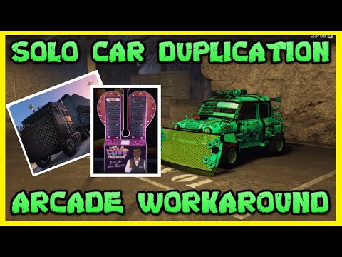 SOLO UNLIMITED MONEY - ARCADE CAR DUPLICATION GLITCH - GTA ONLINE 1.50 ( EASY SOLO DUPES)