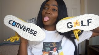 Golf Le Fleur Sneaker Review Unboxing + First impression | TYLER THE CREATOR X CONVERSE | ASLYARTR