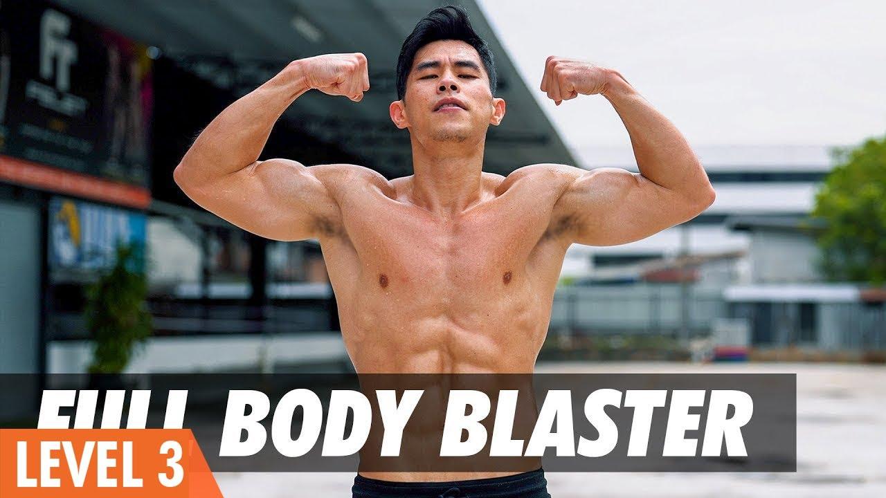 Download Full Body Blaster Circuit Training | Weightloss & Strengthening (Level 3.5)