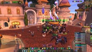 WoW PTR 7.3.2 Heal Monk Antorus, the Burning Throne Argus Raid Forbidden Descent