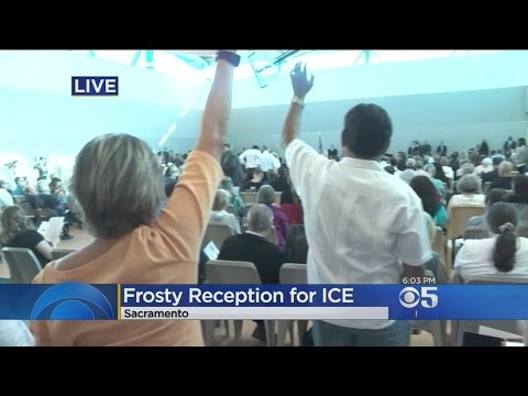 Director Of ICE Gets Frosty Reception At Immigration Town Hall