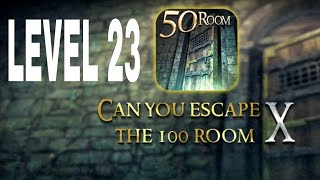 Can You Escape The 100 room X level 23 Walkthrough