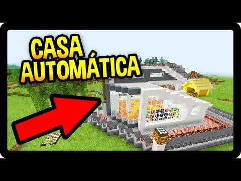 Minecraft Pe A Casa Autom Tica Mais Bonita Do