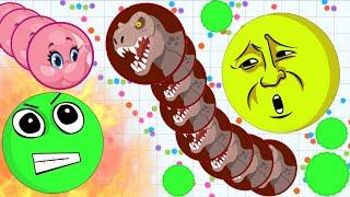 Agar.io Pinky Elephant Best Trick Split Team Epic Agario Gameplay! thumbnail