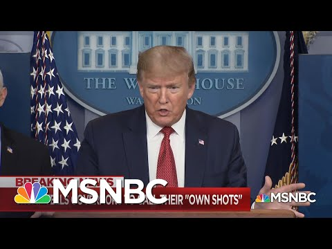 Trump Again Takes Credit For Coronavirus Successes While Shifting Blame For His Failures   MSNBC