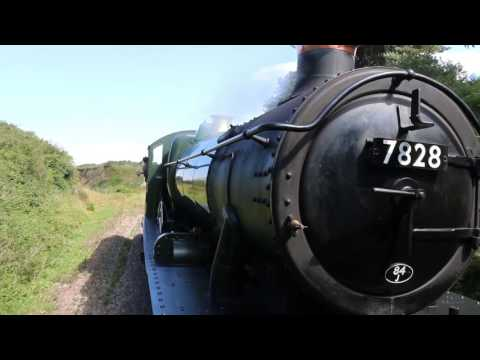 GWR Odney Manor 7828 Loudest Steam Locomotive in the UK