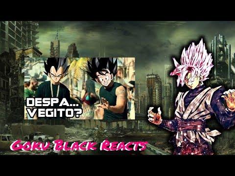 Rosé Goku Black Reacts to Despa... VEGITO??!