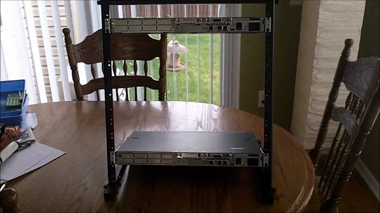 Rack For Cisco 12u Onstage Rs7030 Rackmount Youtube