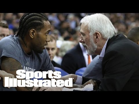 Gregg Popovich Says Kawhi Leonard Out For Game 2, Goes Off On Zaza Pachulia | Sports Illustrated