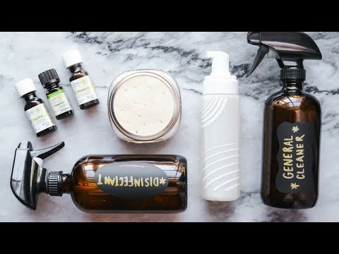 DIY Non-toxic + Vegan Cleaning Supplies! (Budget Friendly)