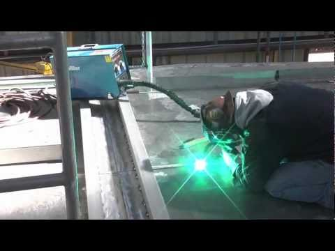Shipyard Reduces Distortion with Pulsed MIG Welding