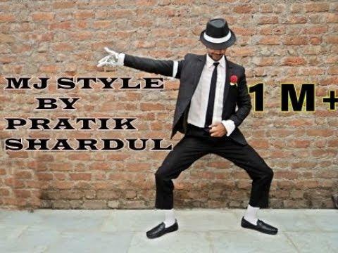 Michael Jackson style(mj style) Dance by PRATIK S. SHARDUL, Tributed to Michael Jackson.