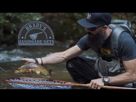 Fly Fishing For Wild Brown Trout | Brady's Handmade Nets