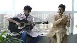 Guitar and Flute Fusion Medley - Teri Galiyaan, Kabira, Kabhi Jo Badal, Anjaane Raahon Mein