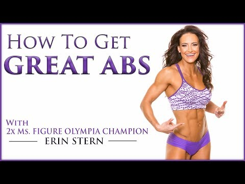 5 Exercises For A Flat Stomach | Amazing Workout For Six Pack Abs