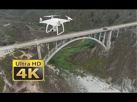 Monterey / Pacific Grove / Highway 1 / Big Sur / California / DJI Phantom, 4K
